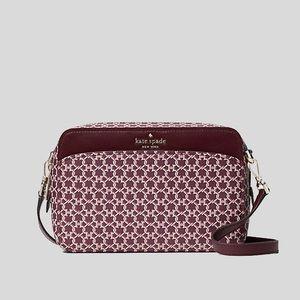Kate Spade Spade Link Purple Camera Bag